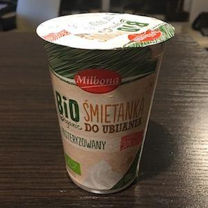 śmietanka milbona-bio-organic-whipping-cream-front