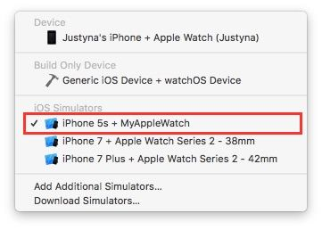 xcode-simulator-device-and-watch