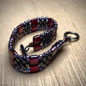 Tile and SuperDuo Bracelet
