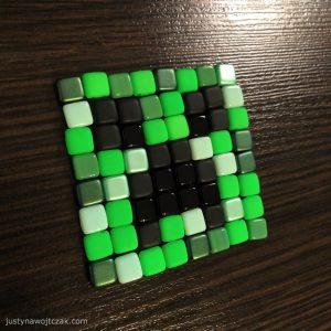 creeper-minecraft-z-koralikow