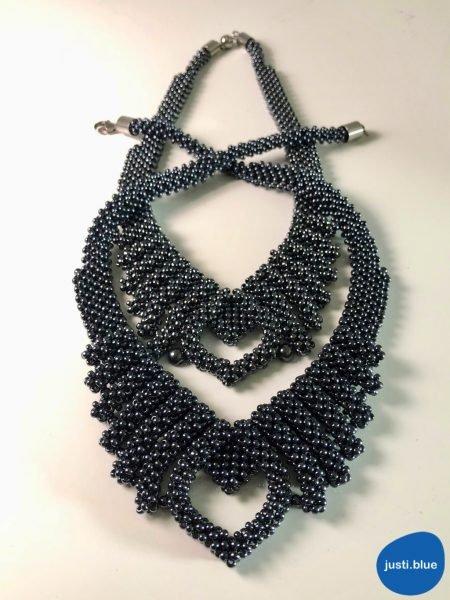 hematite necklaces comparison front view